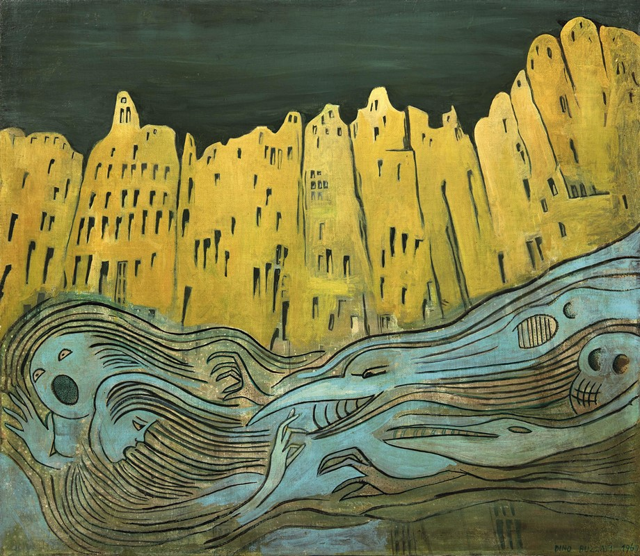 Dino Buzzati: lo scrittore che preferiva dipingere