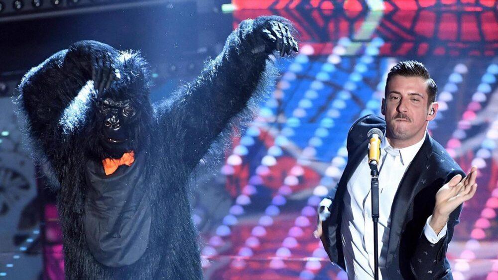 Francesco Gabbani all'Eurovision Song Contest 2017