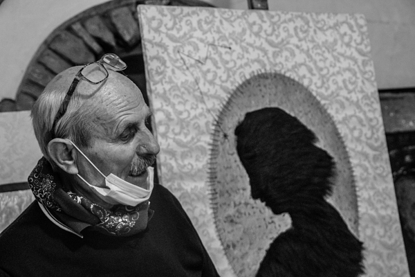 Pensieri di un artista isolato. Giuseppe Leone