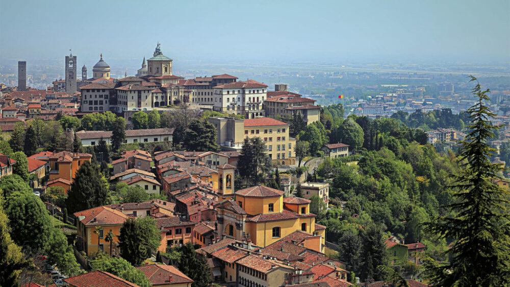 Il centro storico di Bergamo