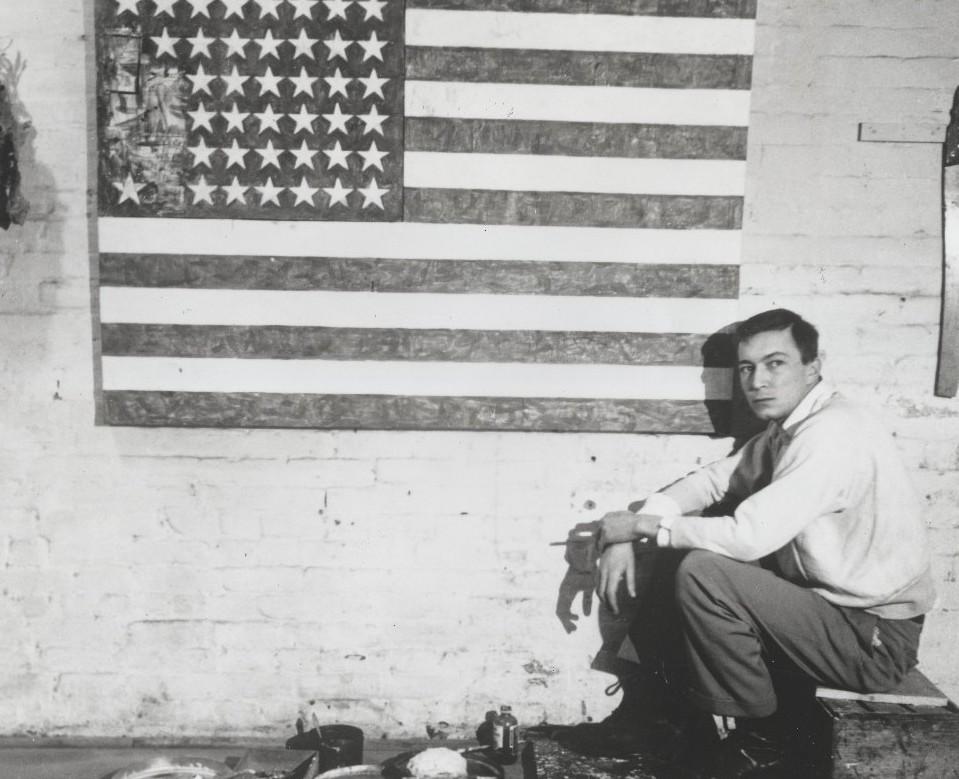 """Jasper Johns compie novant'anni. Il racconto di """"Flag"""" in un'intervista degli anni 70"""