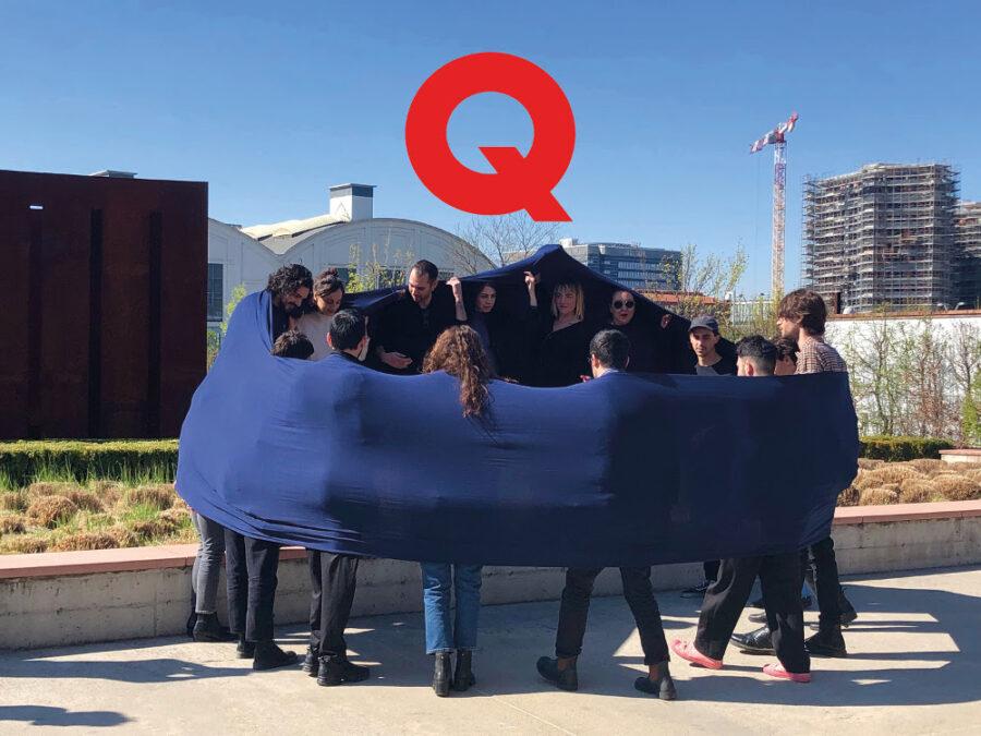 """Quadriennale di Roma, workshop Q-Rated Milano 2019 """"Performance"""", ospitato a Pirelli HangarBicocca. Courtesy Fondazione La Quadriennale di Roma"""