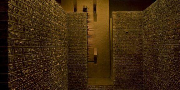 Labirinto di Arnaldo Pomodoro, foto di Dario Tettamanzi