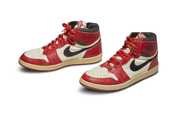 Le Nike Air di Michael Jordan in asta da Sotheby's