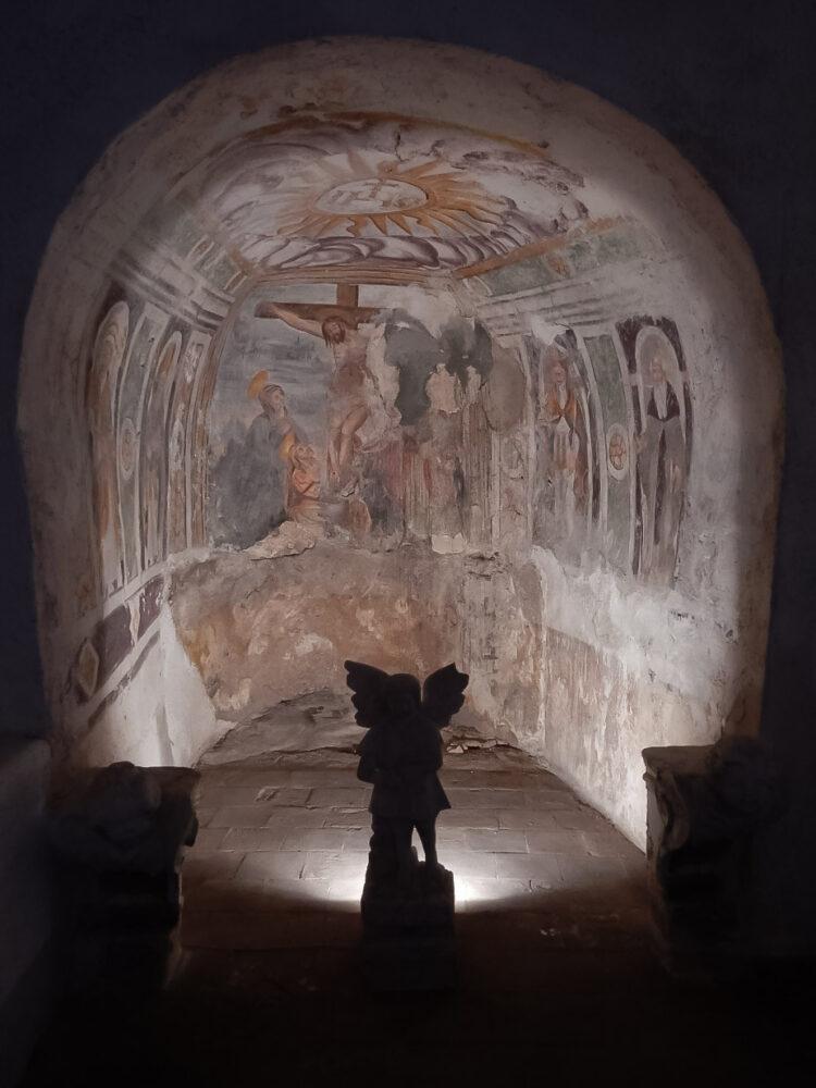 L'interno dell'Eremo di Sant'Onofrio al Morrone, Sulmona, L'Aquila