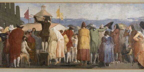 Mondo novo, Giandomenico Tiepolo, 1791