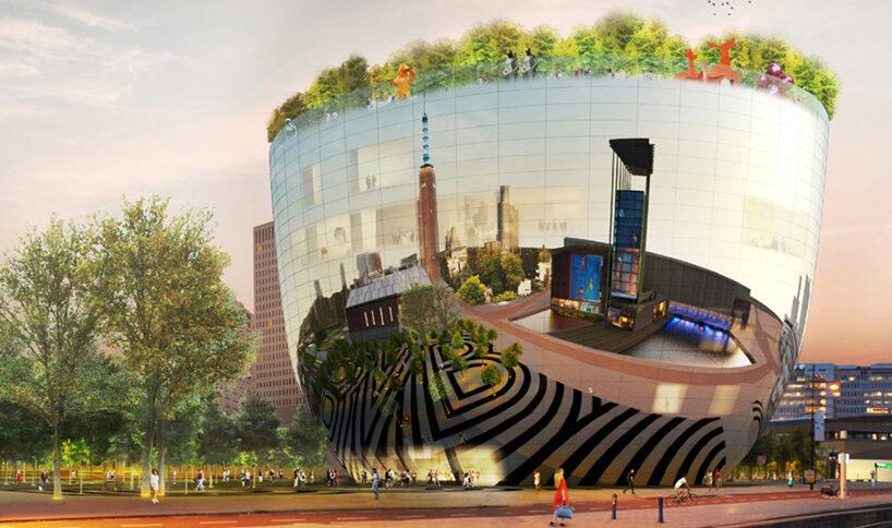 Lo spettacolare Museum Depot, il nuovo deposito di opere d'arte inaugura a Rotterdam nel 2021