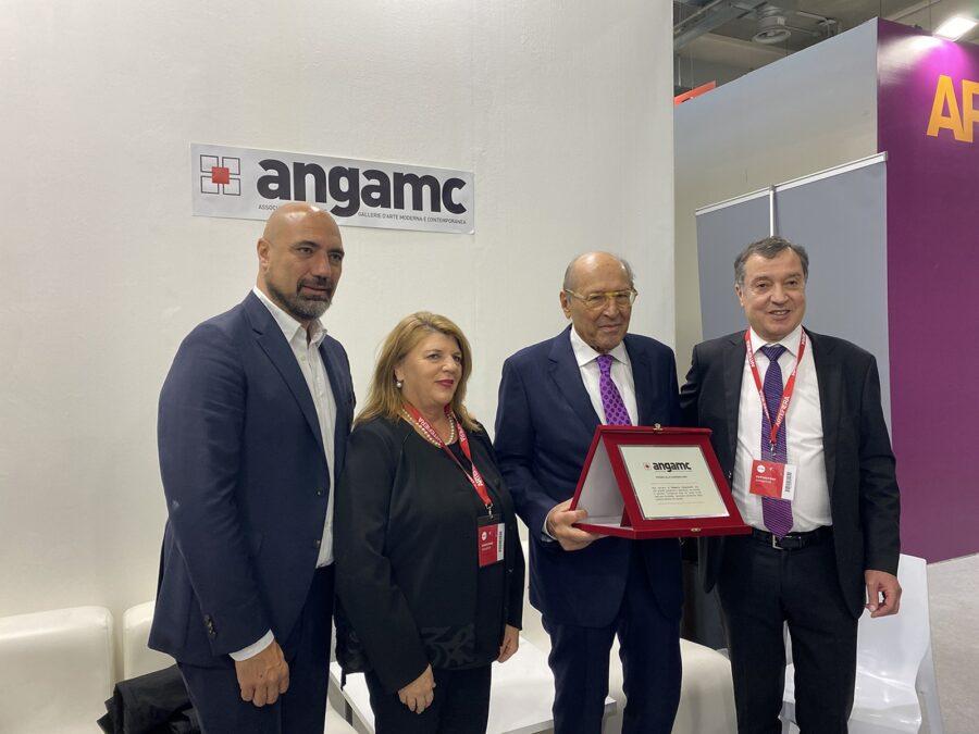 Premio ANGAMC 2020 - Giovanni Bonelli, Paola Verrengia, Roberto Casamonti, Mauro Stefanini