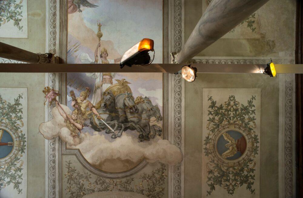 Renato Leotta Sole , 2019 veduta dell'installazione / installation view Courtesy l'artista