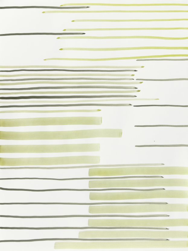 Silvia Bächli Untitled, 2020 Gouache on paper 80×60 cm; 84×64×3,5 cm