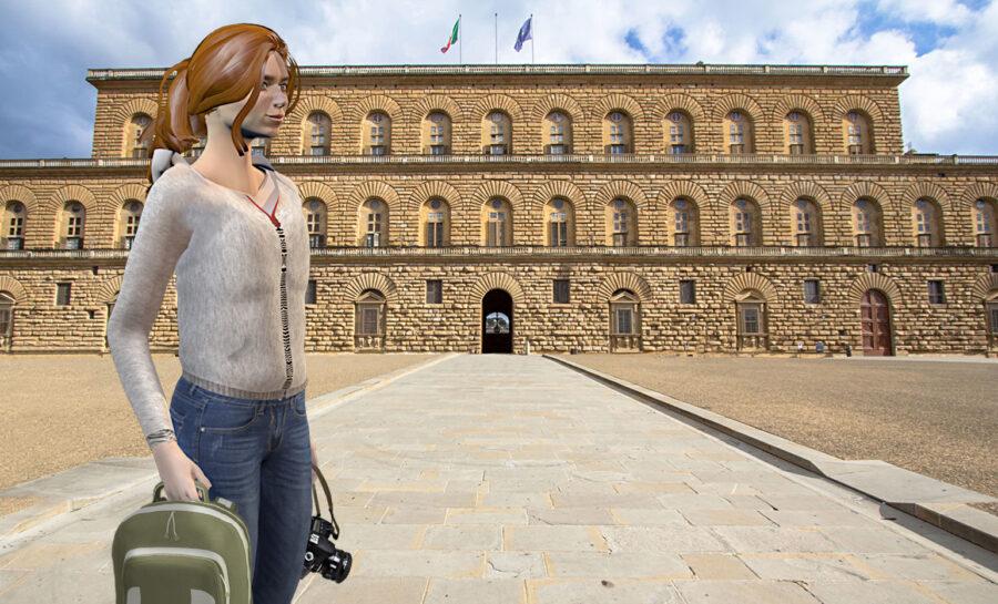 The Medici Game, Palazzo Pitti