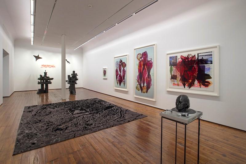 Veduta della mostra Anne & Patrick Poirier, Dystopia, Galleria Fumagalli, Milano, 2017. Ph. Antonio Maniscalco. Courtesy Galleria Fumagalli.