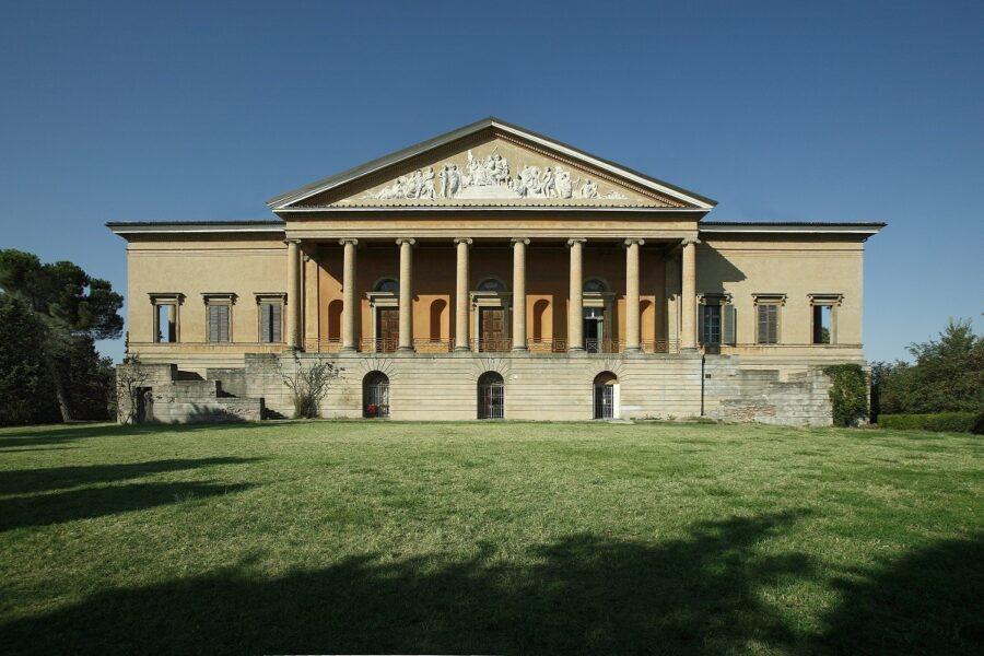 Villa Aldini, facciata, Bologna