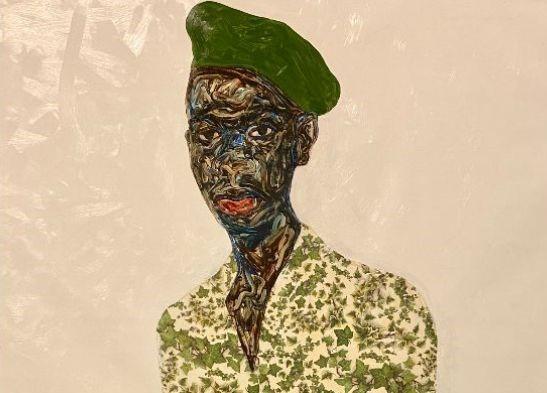 Io sto dalla mia parte: la potenza delle figure Black di Amoako Boafo a Chicago