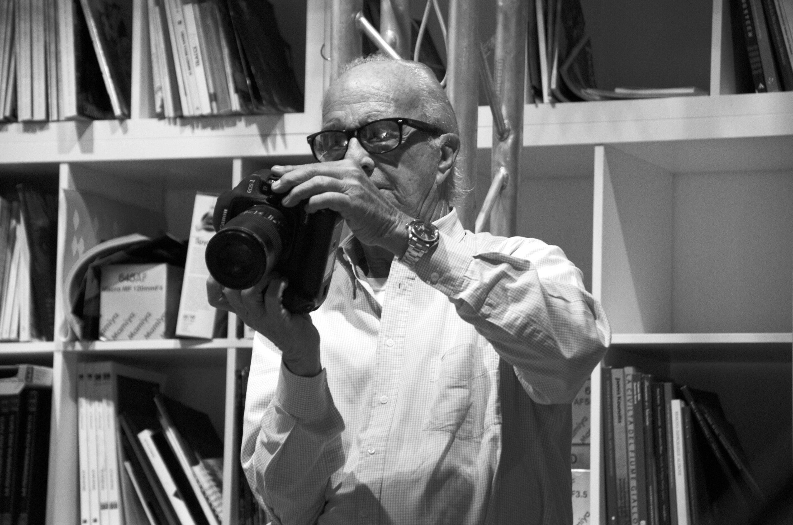 E' morto il grande fotografo Bob Krieger. Re assoluto dei ritratti