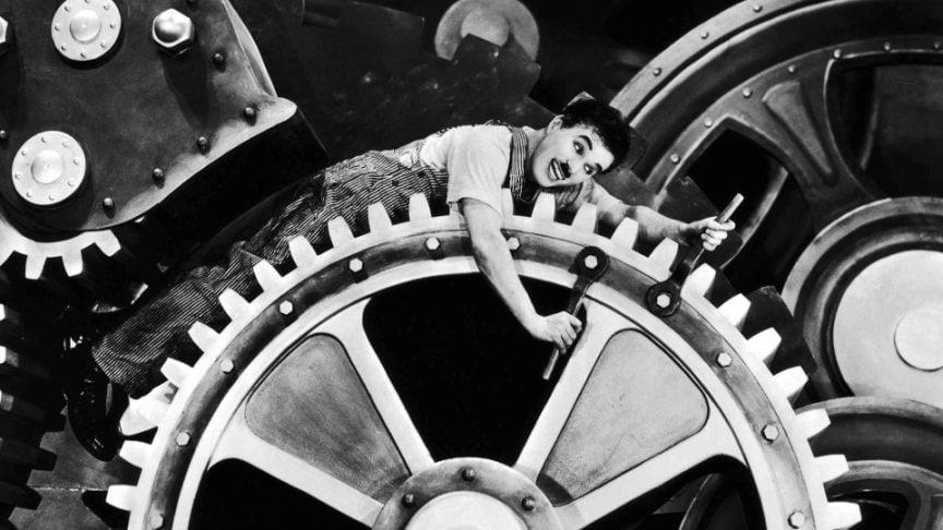 La Cineteca di Bologna offre la visione del mitico Tempi Moderni di Charlie Chaplin
