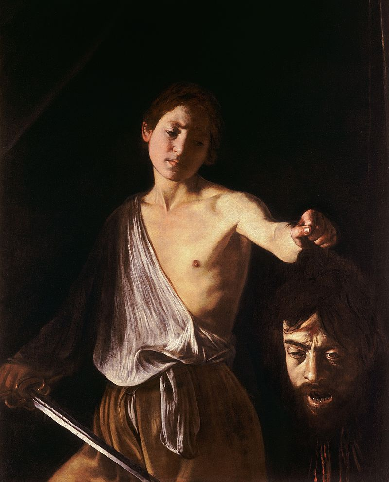 Davide e Golia di Caravaggio (1609-1610)