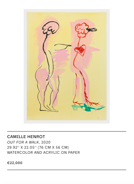 METRO PICTURES – CAMILLE HENROT
