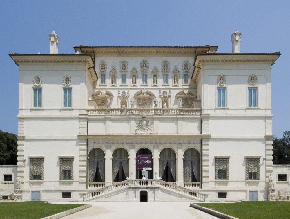 La Galleria Borghese di Roma, foto di F. Vinardi