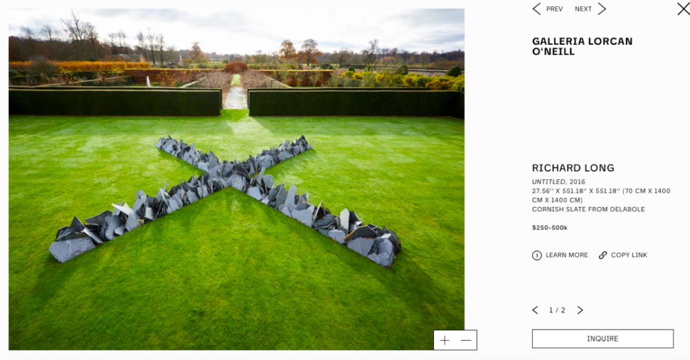 LORCAN O'NEILL – RICHARD LONG