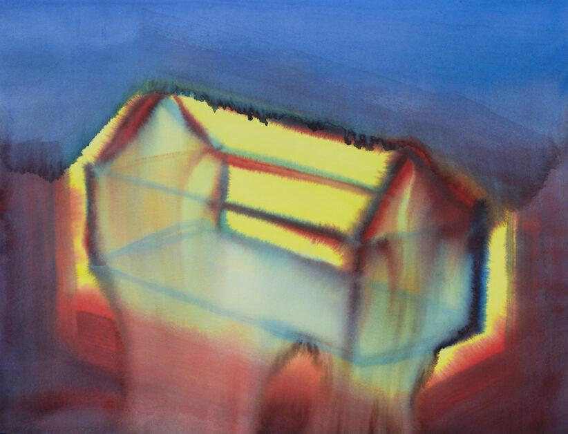 Miriam Cahn, O.T., 16.12.2011, Courtesy Collezione Monica Rabaglia