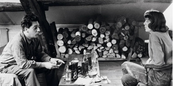 Jean-Paul Riopelle and Joan Mitchell