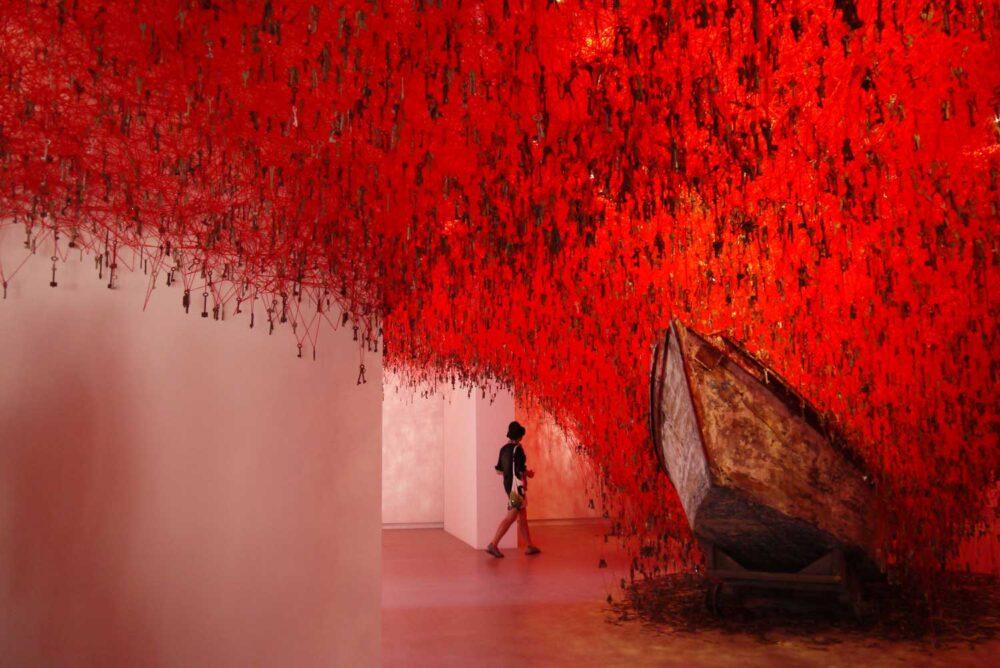 Shiota in Biennale Venezia