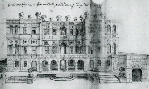 Villa del Vascello a Roma