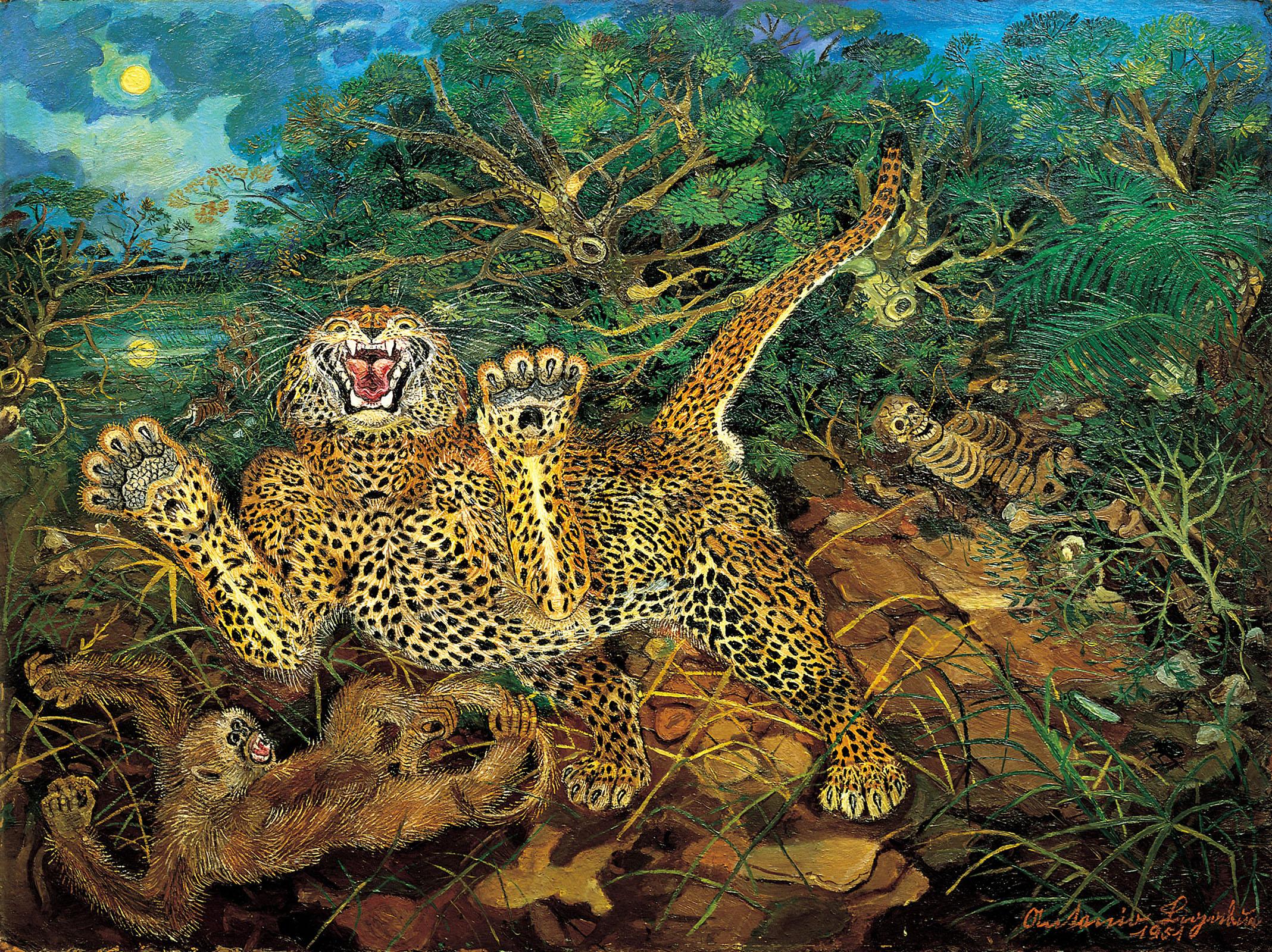 Il disagio dell'uomo e la gloria dell'animale: Antonio Ligabue in mostra a Parma