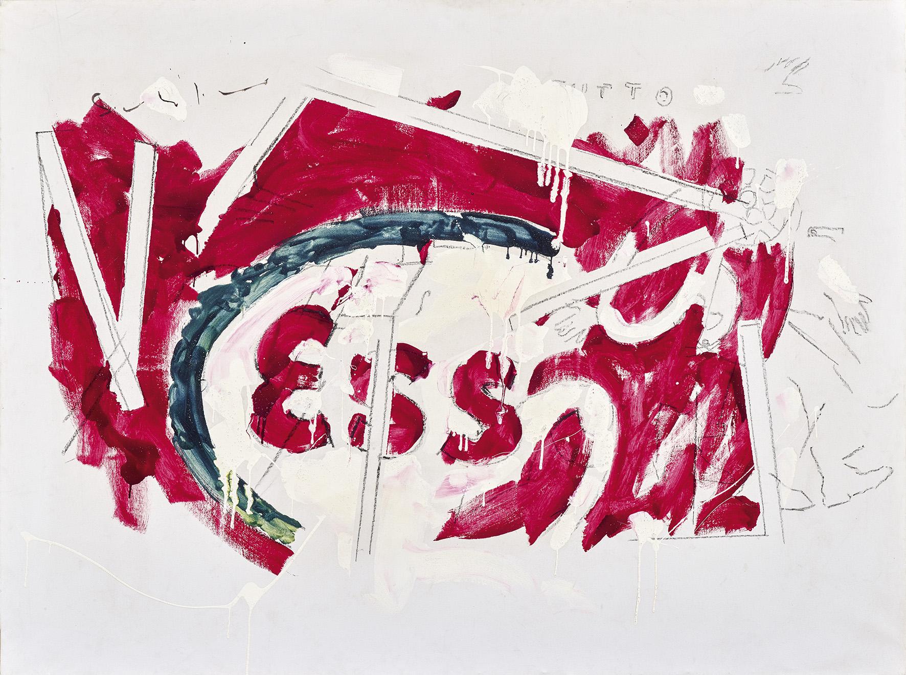 La Tv secondo Mario Schifano, in una mostra alla Tiber Art di Roma