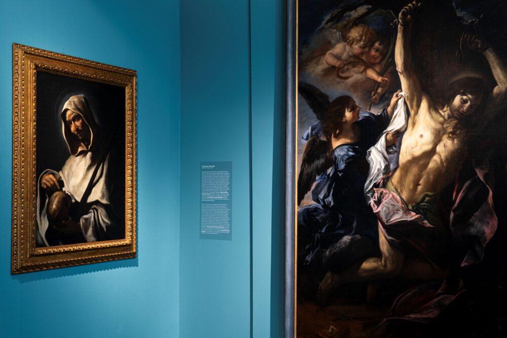 Il tempo di Caravaggio. Allestimento della mostra