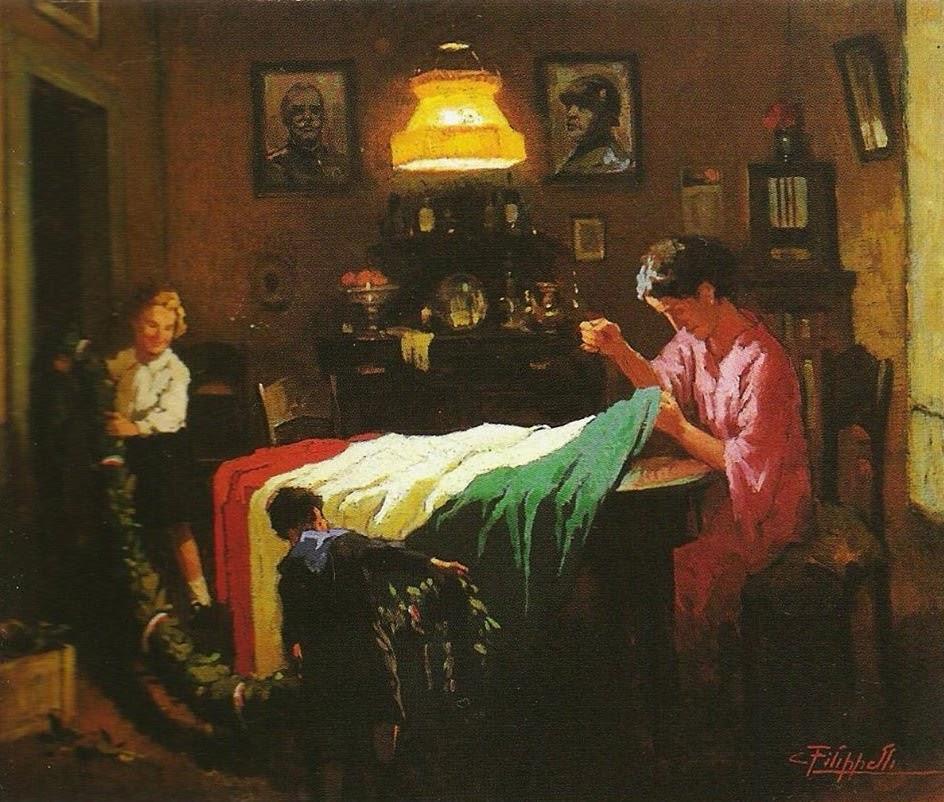 Cafiero Filippelli, Il tricolore, 1930