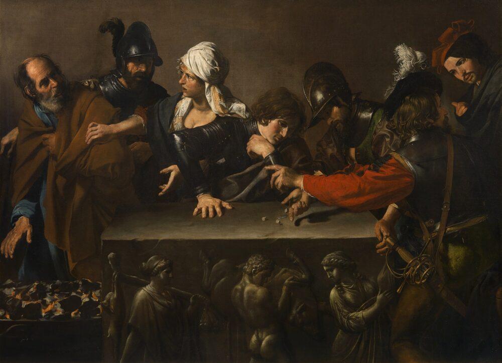 Valentin de Boulogne Negazione di Pietro 1615-1617 circa Olio su tela, cm. 171,5 x 241 cm Firenze, Fondazione di Studi di Storia dell'Arte Roberto Longhi