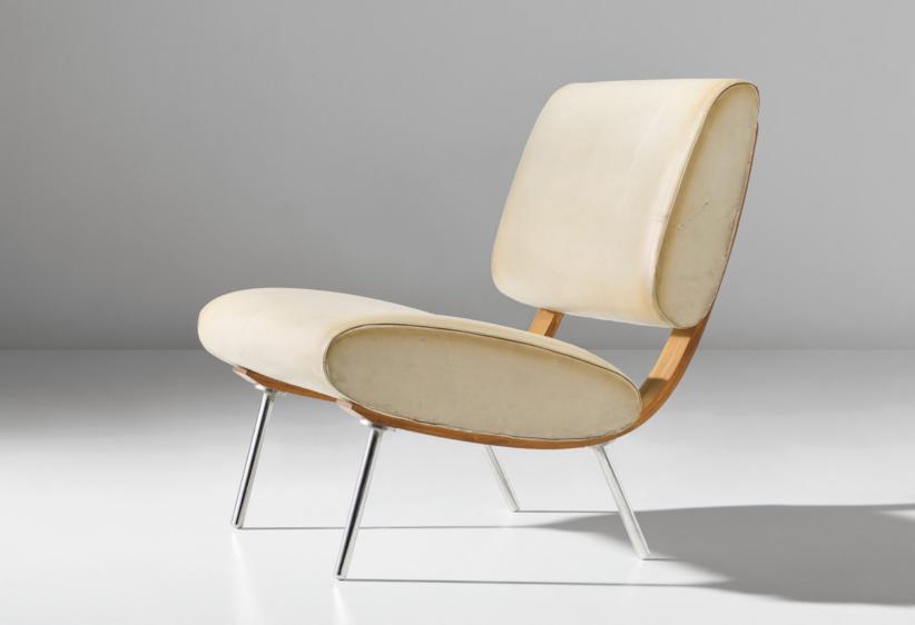 Gio Ponti_Prototype demountable 'Round' easy chair, model no. 852