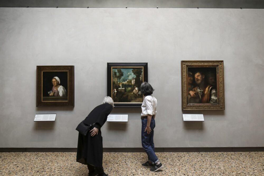 Manieri EliaTempesta di Giorgione (foto Alessandra Chemollo)