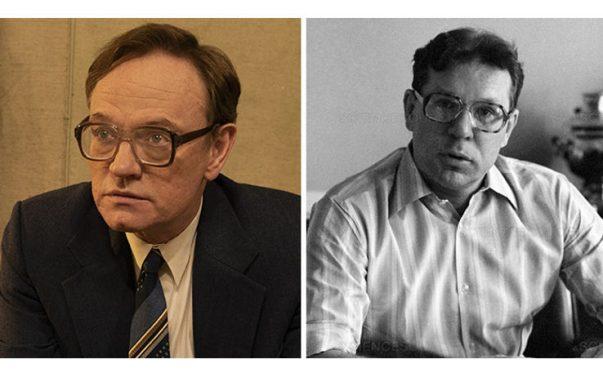 Jared Harris è Valery Legasov in Chernobyl