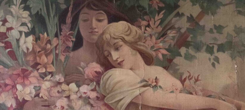 Alphonse Mucha, Les Fleurs