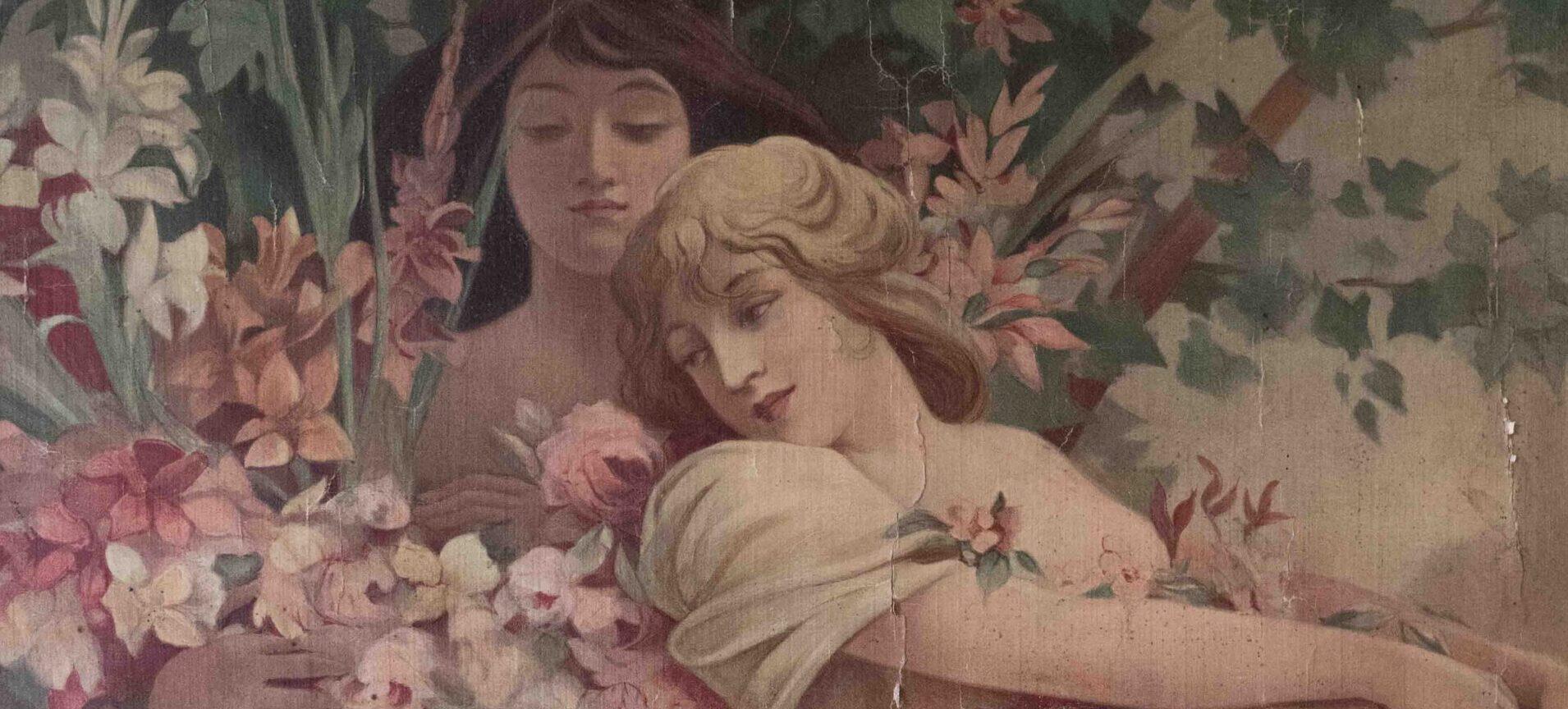 I fiori di Alphonse Mucha a Villa Bernasconi. La riapertura del Museo all'insegna dello storytelling