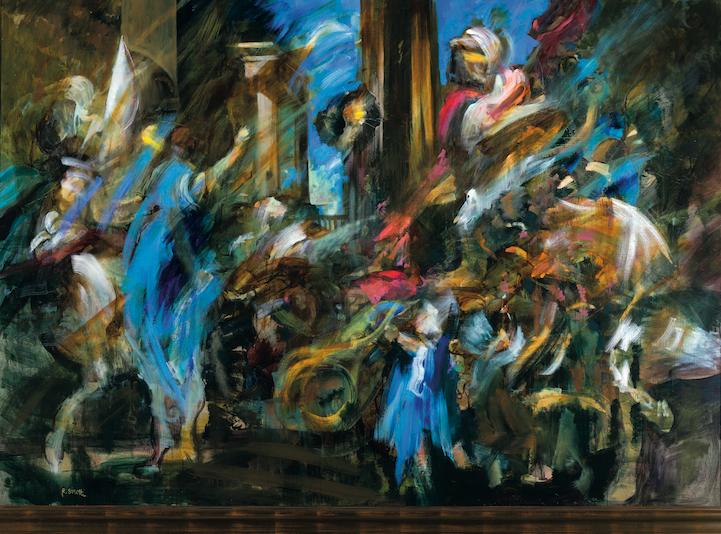 Omaggio al Trionfo di David di Valerio Castello