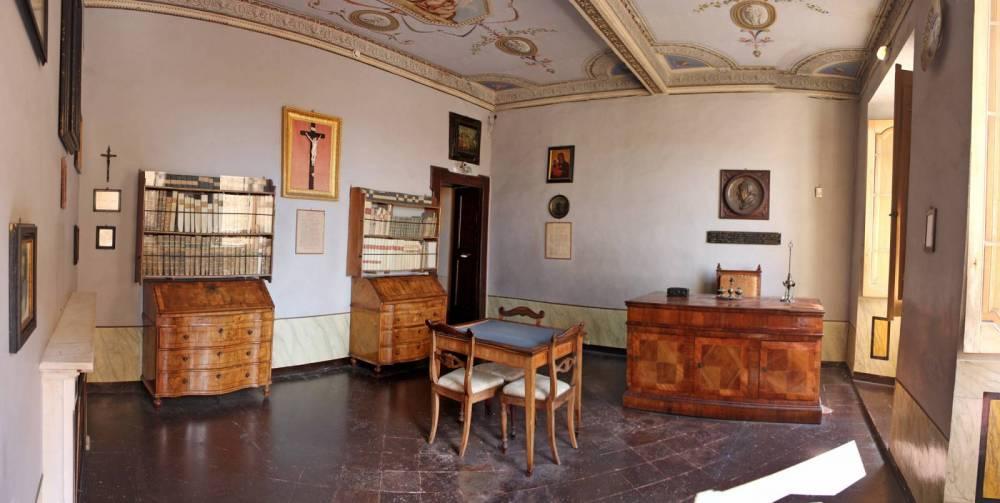 Palazzo Leopardi, gli appartamenti privati, Recanati (Macerata)