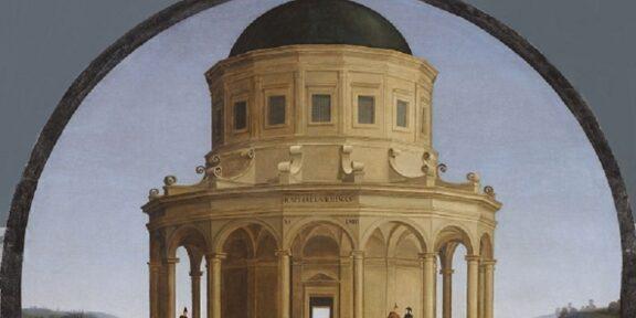 Raffaello Sanzio, Sposalizio della Vergine (1504) - PARTICOLARE-