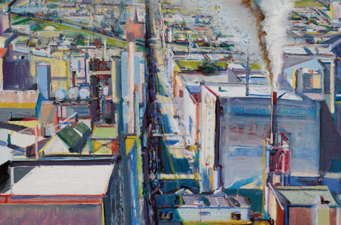 Un altro paesaggio urbano di Wayne Thiebaud in asta da Sotheby's