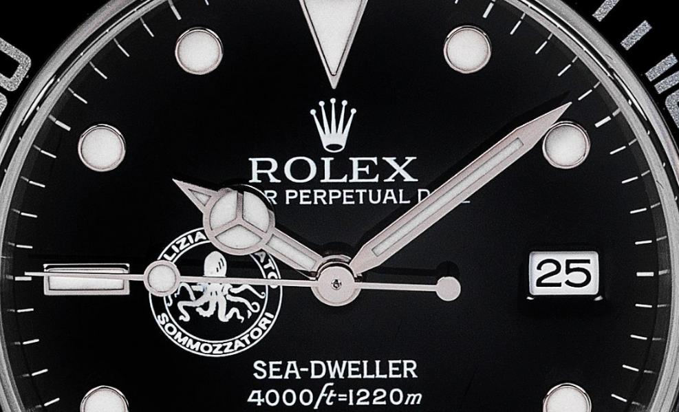 Polipetto, il Rolex dei sommozzatori della Polizia di Stato italiana all'asta
