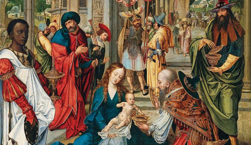 Pieter Coecke van Aelst (Aelst 1502-1550 Bruxelles), Adorazione dei Magi, olio su tavola, 112 x 75 cm, prezzo realizzato € 1.137.800, record mondiale