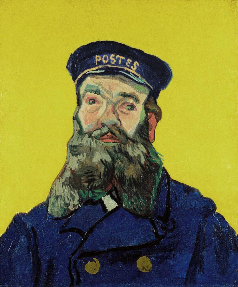 Vincent van Gogh- Ritratto del postino Joseph Roulin, 1888 , olio su tela, cm 65 x 54. Kunstmuseum, Winterthur, dono degli eredi di Georg Reinhart, 1955 © SIK-ISEA, Zürich