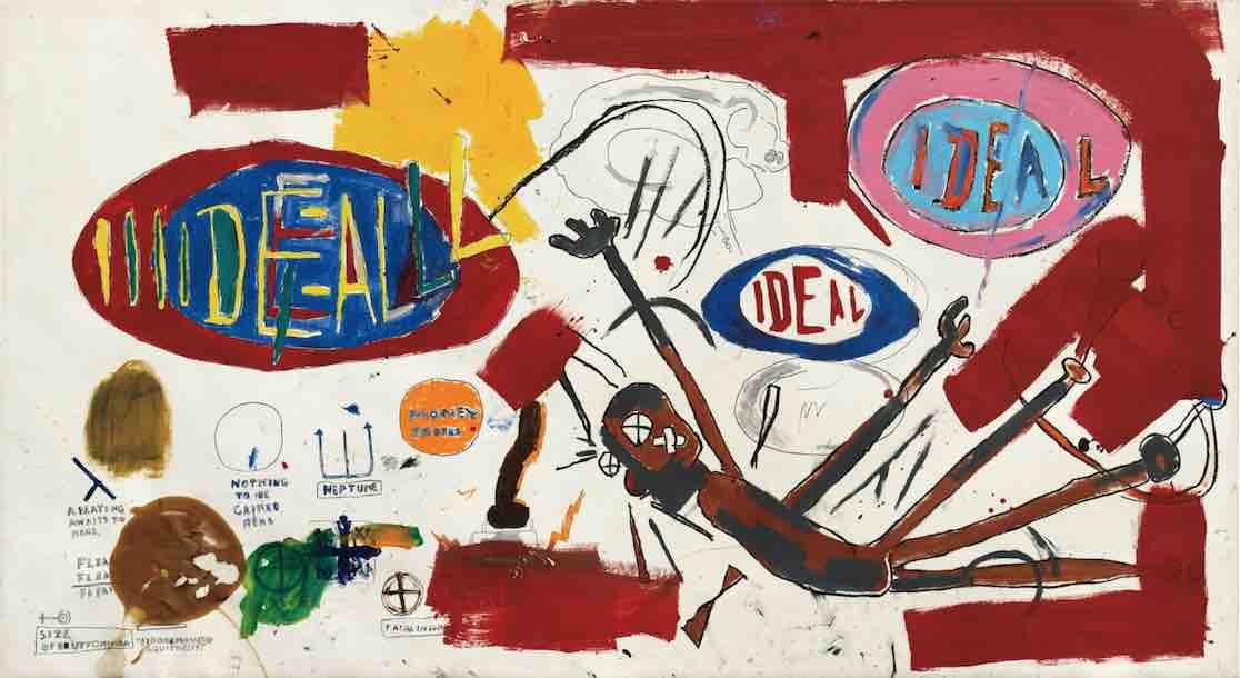Basquiat for Justice. Un altro lavoro su carta da 10 milioni accenderà New York a luglio