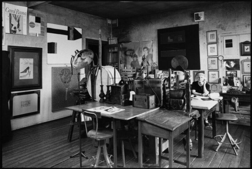 Curatore di Archivi d'Artista