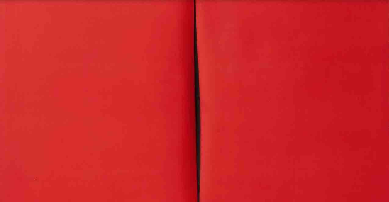 Un raro e totemico taglio di Lucio Fontana tra gli highlight dell'asta-evento ONE di Christie's