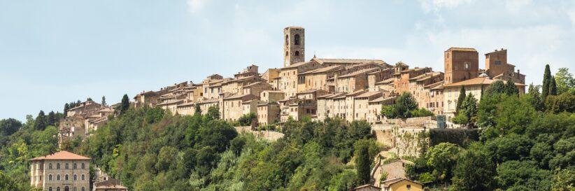Panorama of Colle di Val d'Elsa