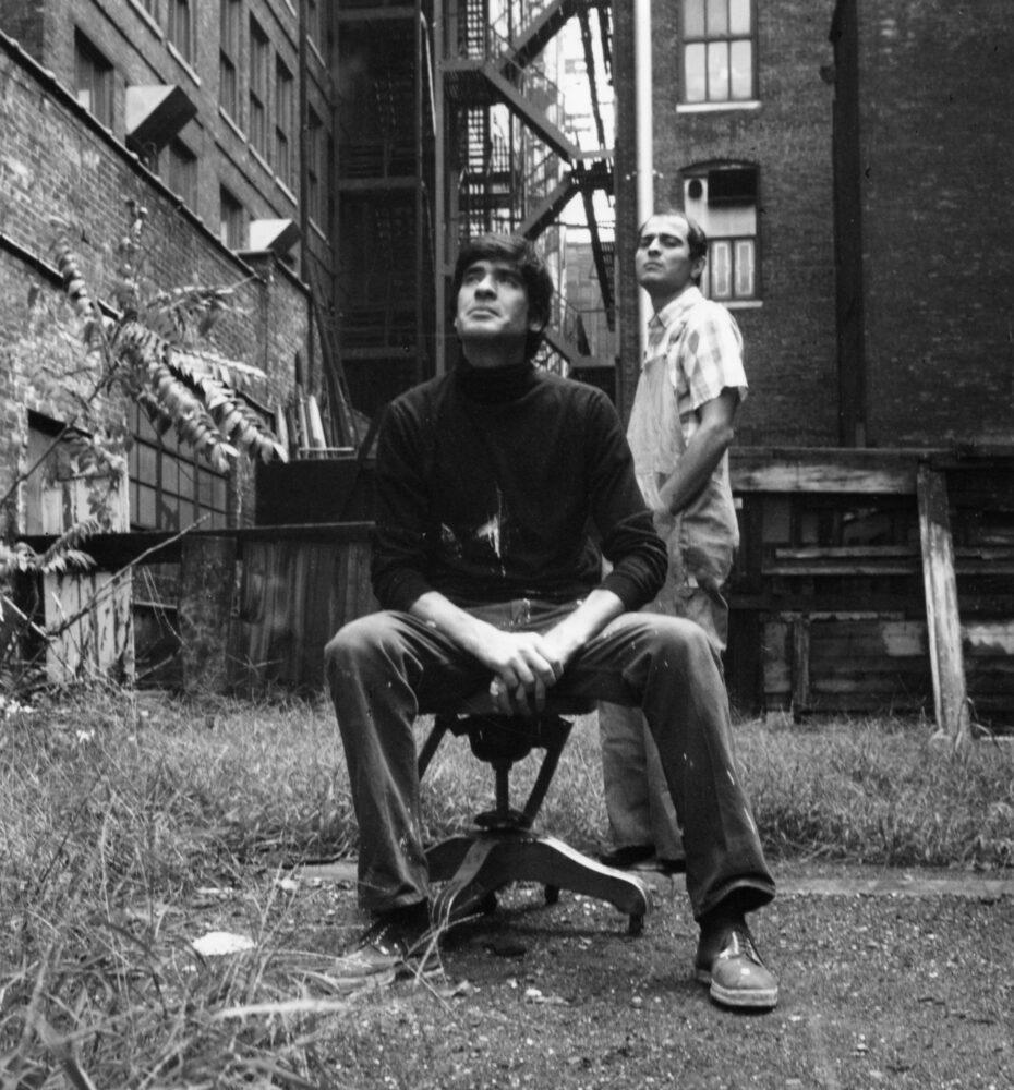Mario Ceroli e Renato Mambor, New-York, 1966